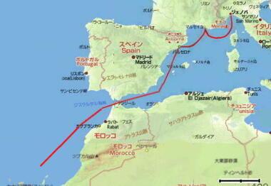三千里地図・1