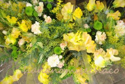 春いっぱいサービス花束