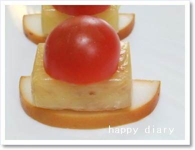 燻製チーズオードブル