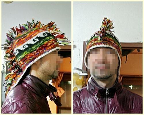20モヒカン帽子