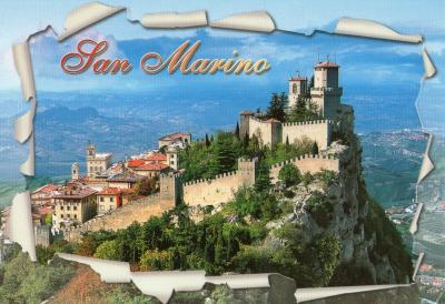 スイスA絵葉書サンマリノ20127