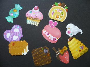 ヒマワリのポストカード&フェイバリットシール(Confection)3