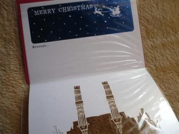 """""""126円クリスマスカード""""を購入2012-6"""