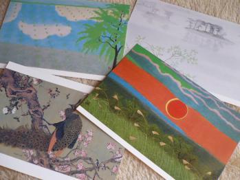 博物館で、ポストカード&テープ購入201210-1