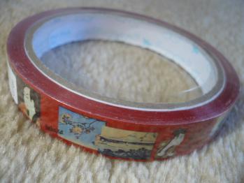 博物館で、ポストカード&テープ購入201210-2