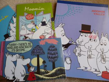 ムーミンポストカード&レターパッド2012-1