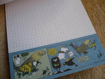 ムーミンポストカード&レターパッド2012-4