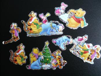 ダイソーのクリスマスシール(ディズニー)2012-4