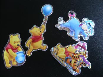 ダイソーのクリスマスシール(ディズニー)2012-5