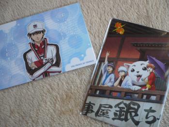アニメのポストカードセットを初めて購入2012-1
