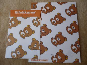 リラックマのレターセット201212-2