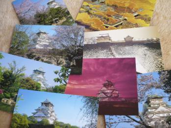 大阪城のポストカードセット2013-3