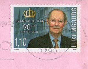 ルクセンブルク切手20127