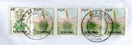 レソト切手20123