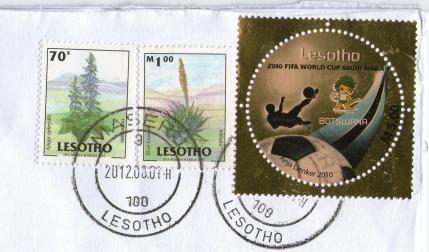 レソトJ切手20128