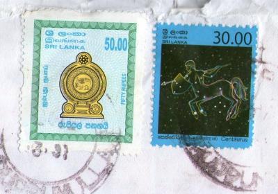 スリランカN切手20124