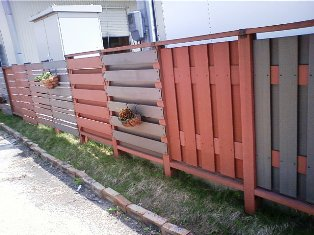 人工フェンス
