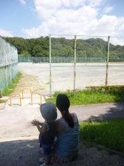 草野球見学