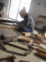 桶職人と道具