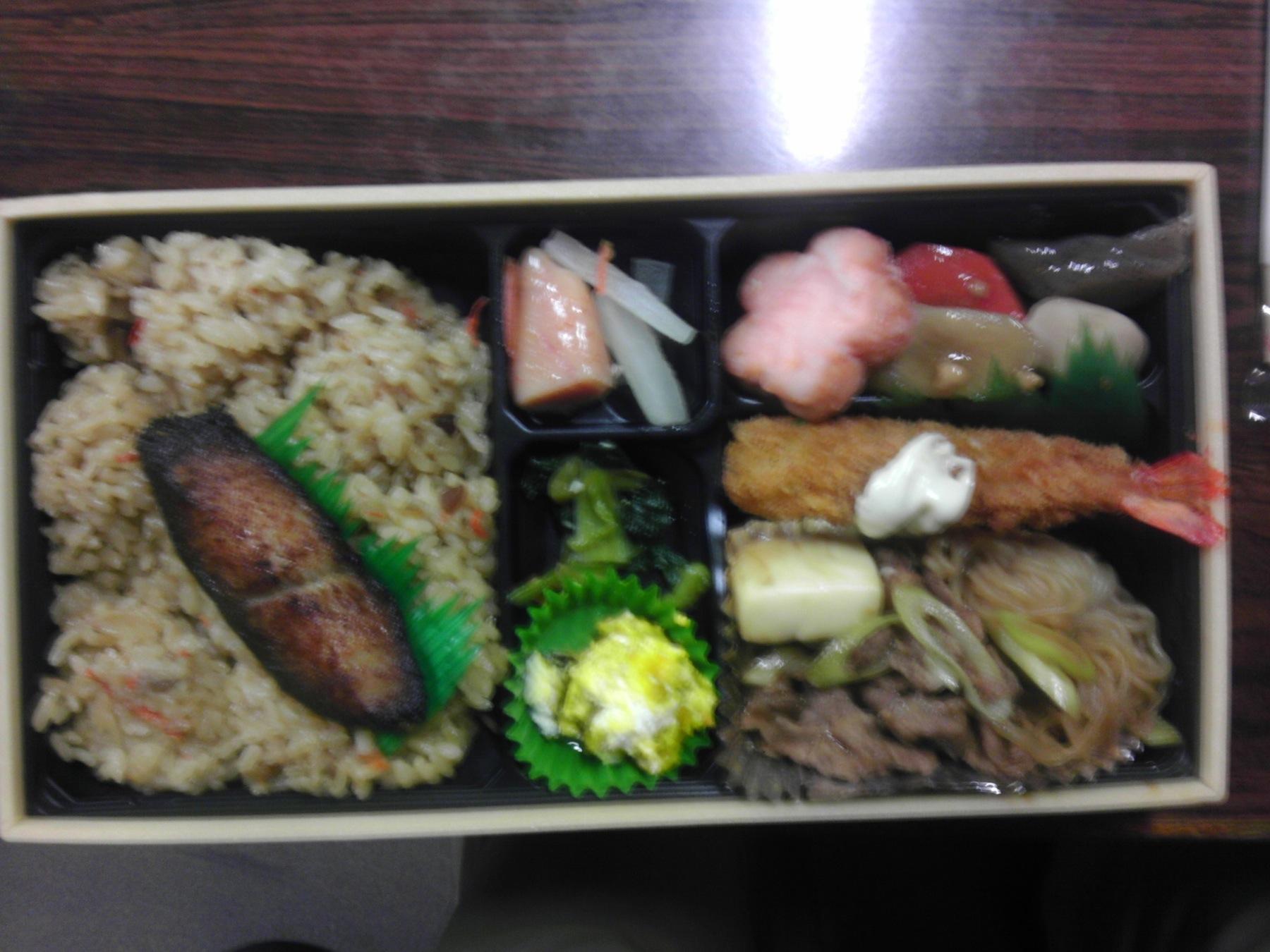 松・幕の内弁当(鶏めし)