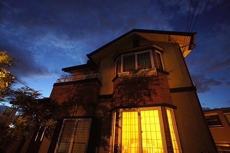 120716逗子住宅街の夜3