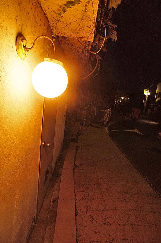 120716逗子住宅街の夜4
