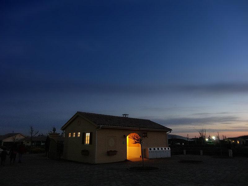 131006ソレイユの丘夕景4