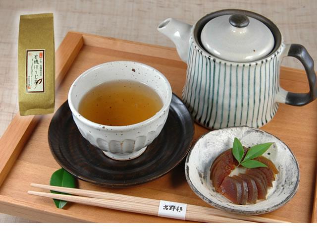 有機無農薬のお茶 童仙房茶舗ほうじ茶