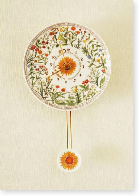 カール・リンネ博士の花時計