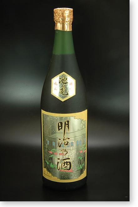 池亀明治乃酒17年古酒