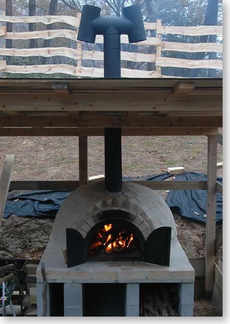 初めての石窯ピザ焼き