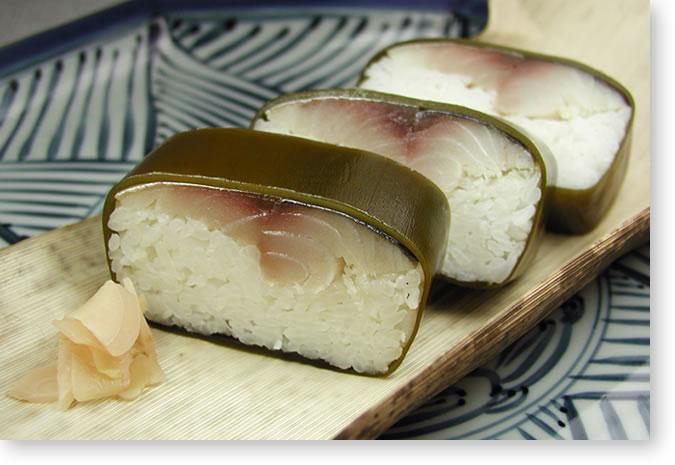 米吾の鯖寿司