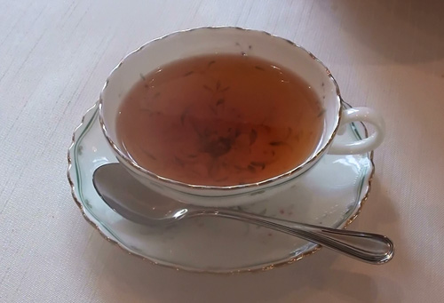 アイーダの紅茶