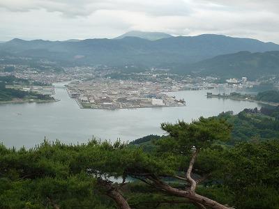 気仙沼・大島亀山から気仙沼方向アップ、P1030358(1)
