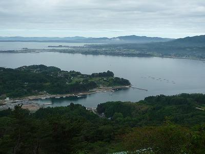 気仙沼・大島亀山から大島港方向2、P1030363(1)