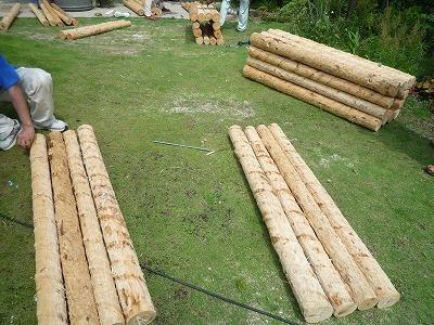 門柱製作012,7,13、門柱製作、2、P1030411
