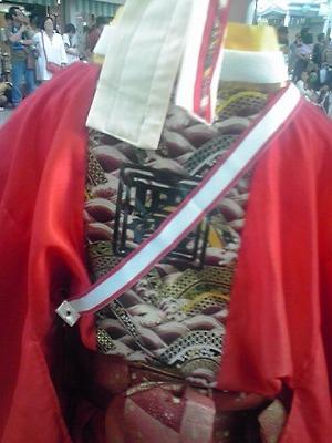 yosakoi,衣装の背中、KC3T0204