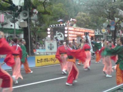 yosakoi,追手筋の踊り子連、KC3T0199