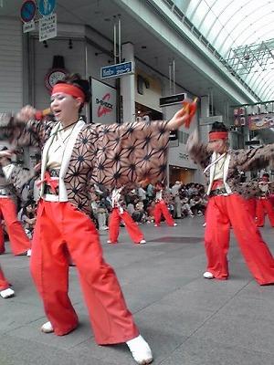 yosakoi,踊り子アップ、KC3T0193