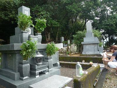 yosakoi,墓地、しづか