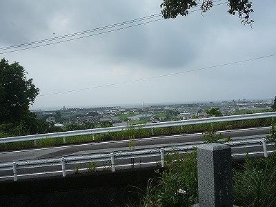 yosakoi,墓地から太平洋、P1030431