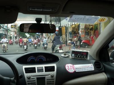 ベトナム、ホーチミンバイク、12,8,31、P1030458