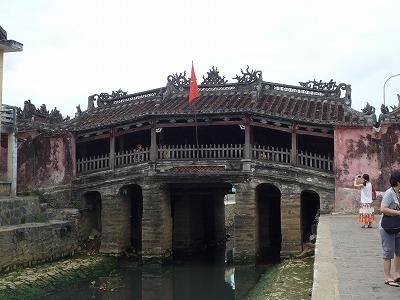 ベトナム012、9・1、ホイアン日本人街、来遠橋(日本橋)P1030540