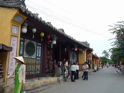 ベトナム012、9・1、ホイアン日本人街町並み、P1030521
