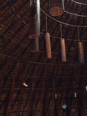ベトナム012,9.2,バンブーDoom.内部、照明、P1030564