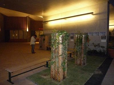 木愛の会ブース夜景、P1030762