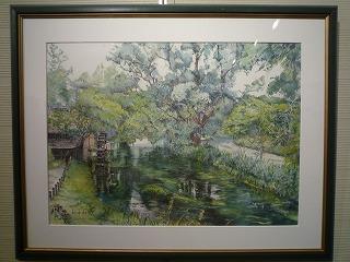 福田さん、緑水、P1030781