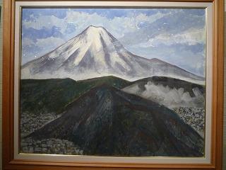 神谷さん、富士山、P1030776