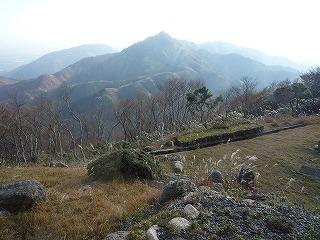 11,12、御在所から、鎌ヶ岳、P1030865