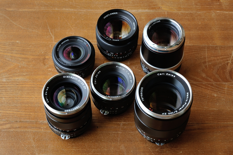 Carl Zeiss & Voigtlander Lenses